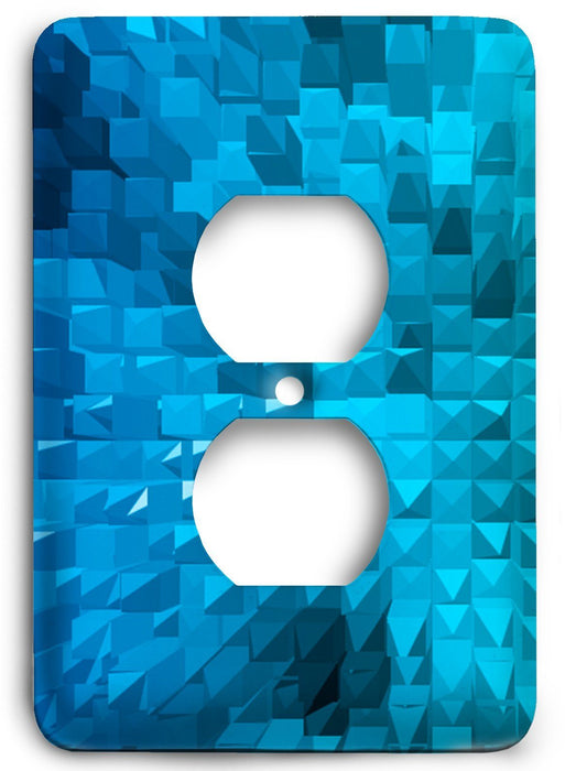 Colorful Textures Design  v127 Outlet Cover - Colorful Switches