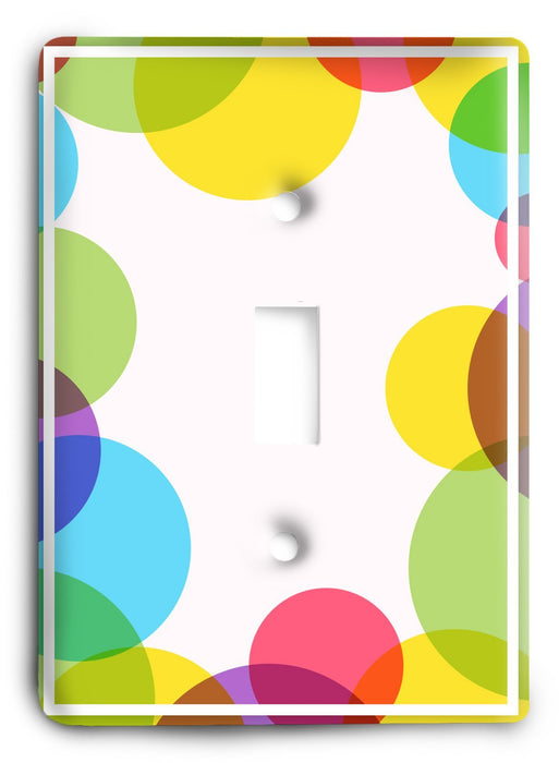 Colorful Textures Design  v127 Light Switch Cover - Colorful Switches