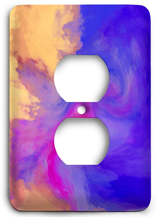 Colorful Textures Design  v133 Outlet Cover - Colorful Switches