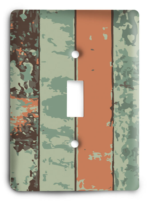 Colorful Textures Design  v133 Light Switch Cover - Colorful Switches