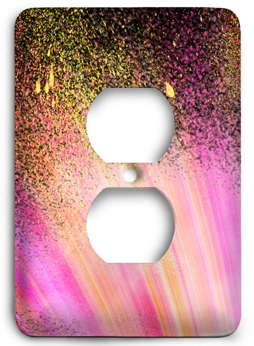 Colorful Textures Design  v140 Outlet Cover - Colorful Switches