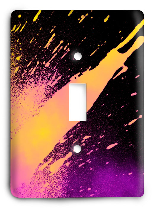 Colorful Textures Design  v140 Light Switch Cover - Colorful Switches