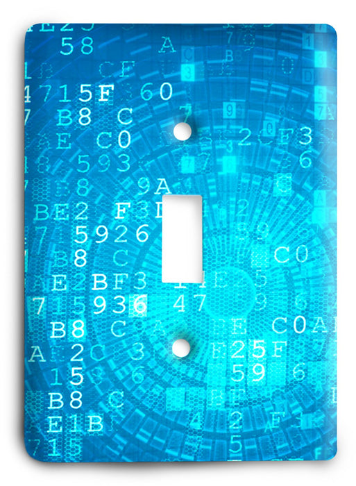 Colorful Textures Design  v171 Light Switch Cover - Colorful Switches