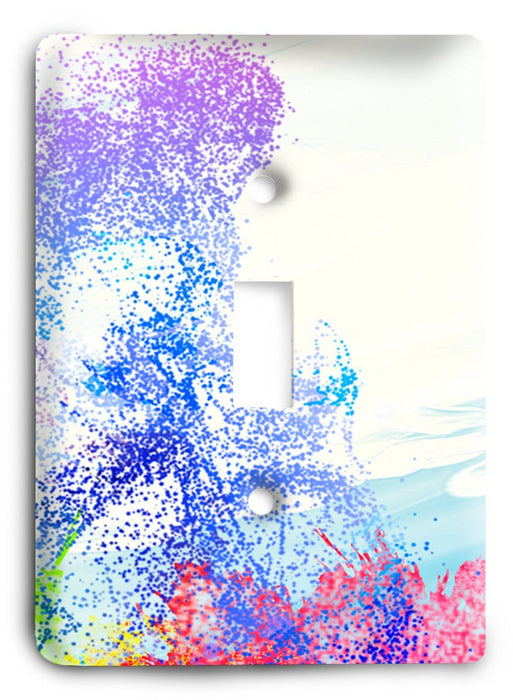 Colorful Textures Design  v185 Light Switch Cover - Colorful Switches