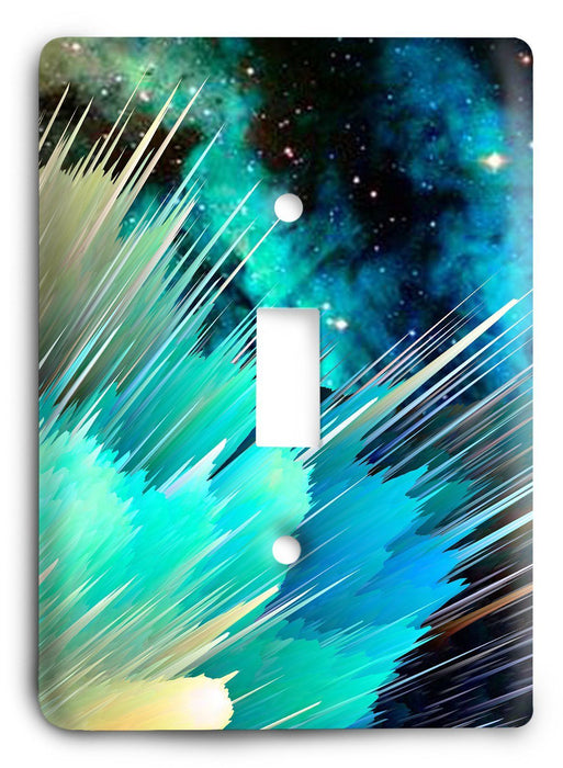 Colorful Textures Design  v186 Light Switch Cover - Colorful Switches