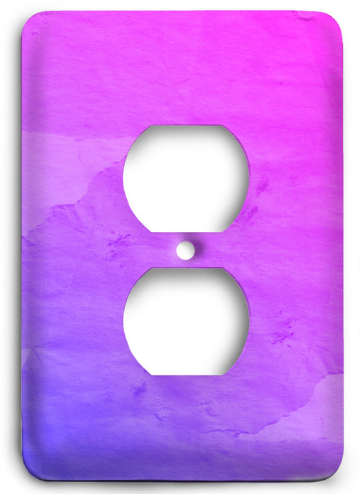 Colorful Textures Design  v189 Outlet Cover - Colorful Switches