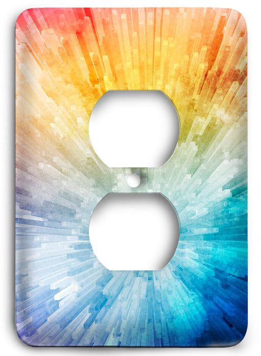 Colorful Textures Design  v203 Outlet Cover - Colorful Switches
