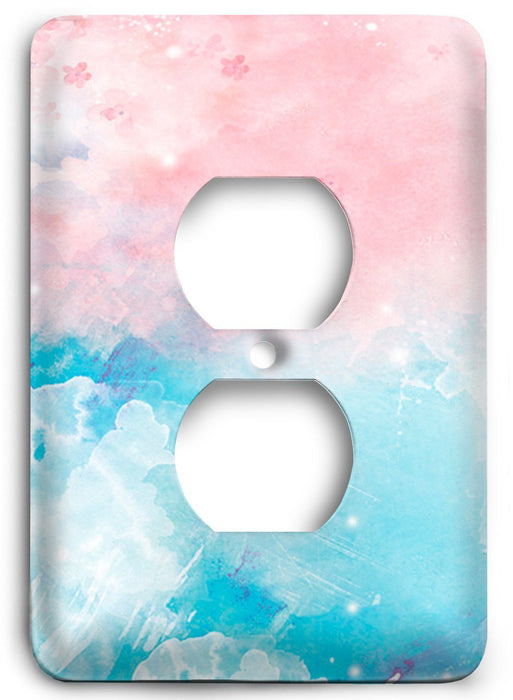Colorful Textures Design  v40 Outlet Cover - Colorful Switches