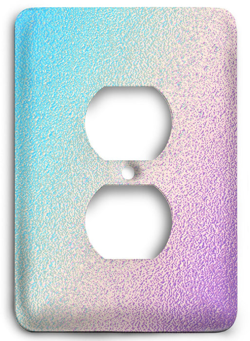 Colorful Textures Design  v42 Outlet Cover - Colorful Switches