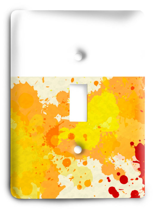 Colorful Textures Design  v42 Light Switch Cover - Colorful Switches