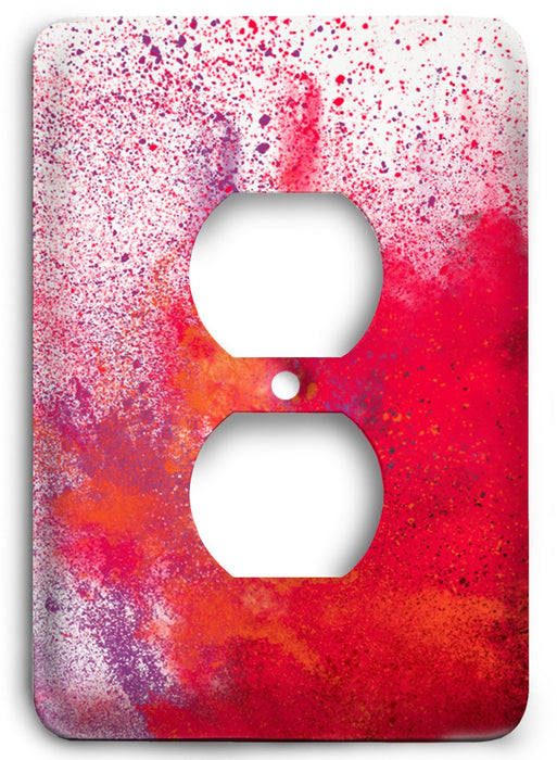 Colorful Textures Design  v44 Outlet Cover - Colorful Switches