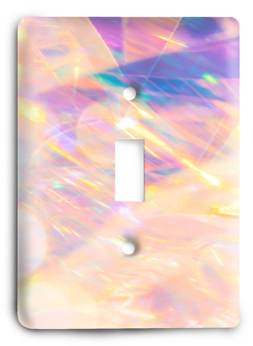 Colorful Textures Design  v62 Light Switch Cover - Colorful Switches