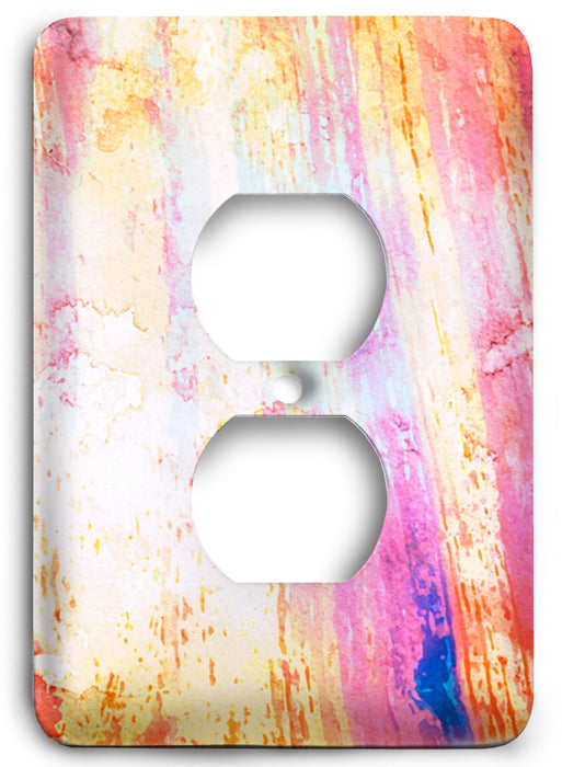 Colorful Textures Design  v64 Outlet Cover - Colorful Switches