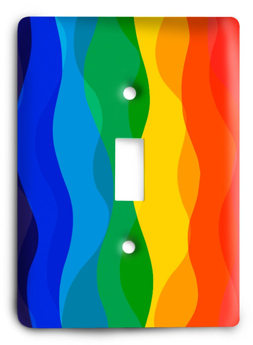 Colorful Textures Design  v72 Light Switch Cover - Colorful Switches