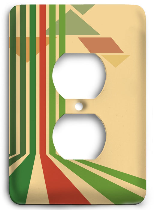 Colorful Textures Design  v80 Outlet Cover - Colorful Switches