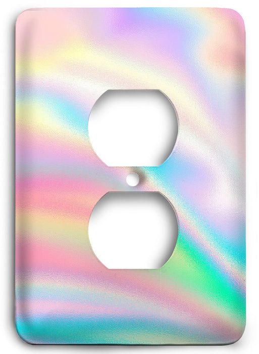 Colorful Textures Design  v97 Outlet Cover - Colorful Switches