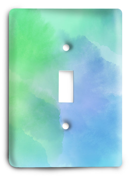 Colorful Textures Design  v97 Light Switch Cover - Colorful Switches