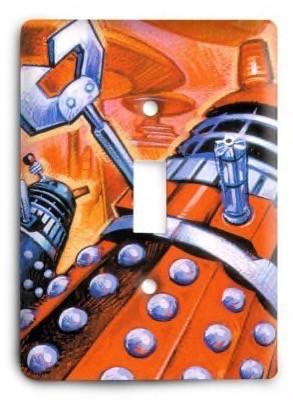Comics_Dr Who_221238 Light Switch Cover - Colorful Switches