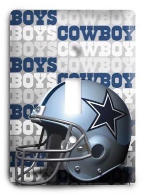 Cowboys NFL 11 Light Switch Cover - Colorful Switches