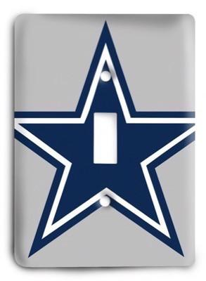 Cowboys NFL 17 Light Switch Cover - Colorful Switches