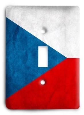 Czech Republic Light Switch Cover - Colorful Switches