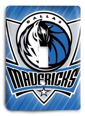 Dallas Mavericks   NBA 07v Light Switch Cover - Colorful Switches