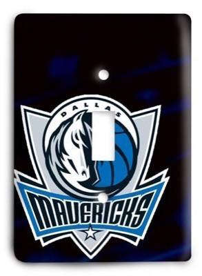 Dallas Mavericks   NBA 09 Light Switch Cover - Colorful Switches