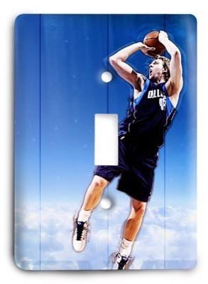 Dallas Mavericks   NBA 17 Light Switch Cover - Colorful Switches