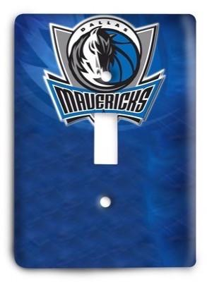 Dallas Mavericks   NBA 36 Light Switch Cover - Colorful Switches