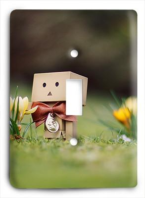 Danbo In Daisies Light Switch - Colorful Switches