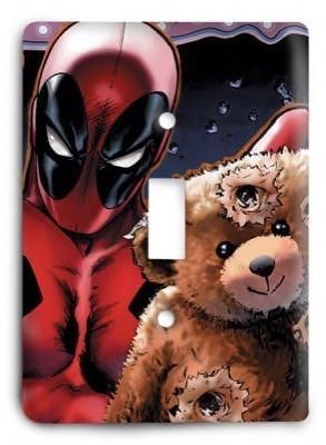 Deadpool Marvel Comics G3 1 Light Switch Cover - Colorful Switches