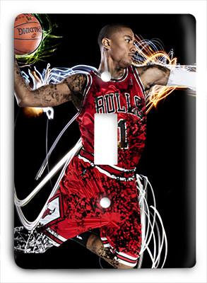 Derrick Rose To The Rim Light Switch - Colorful Switches
