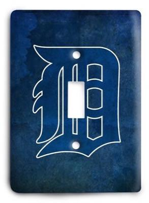 Detroit Tigers 1 Light Switch Cover - Colorful Switches