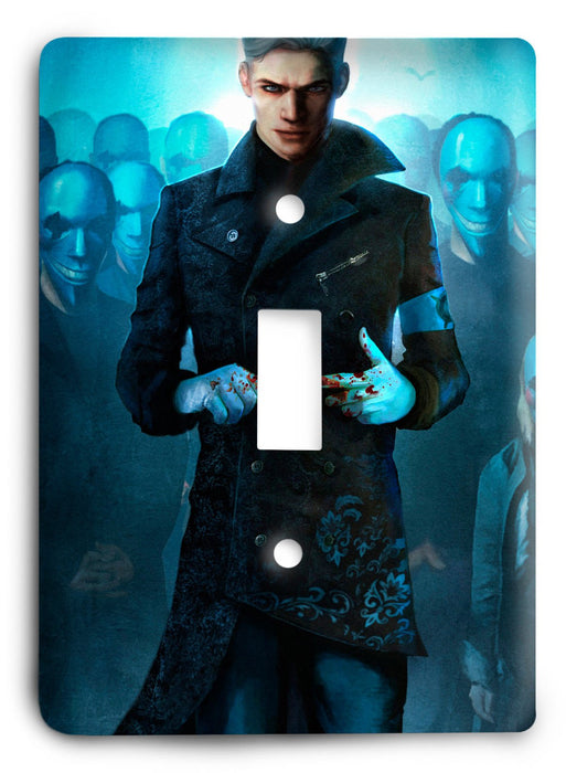 Devil May Cry G5v2 Light Switch Cover - Colorful Switches