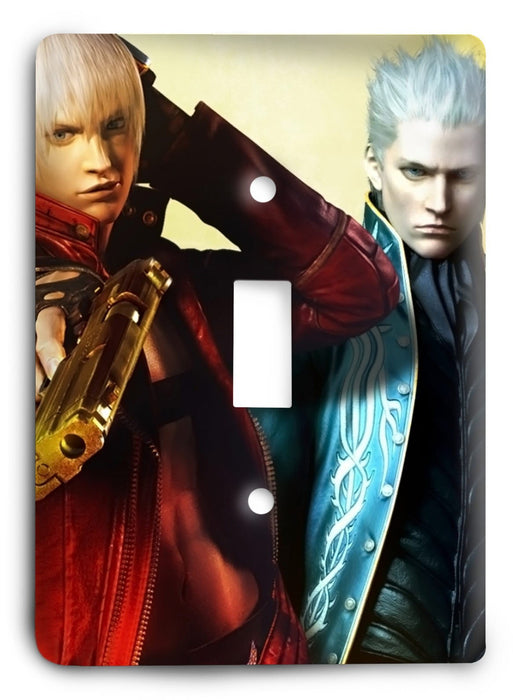 Devil May Cry G5v5 Light Switch Cover - Colorful Switches