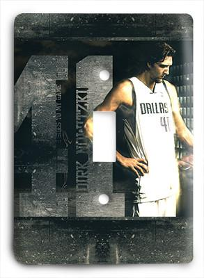 Dirk Nowitzki 41 True Warrior Light Switch - Colorful Switches