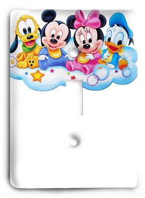 Disney Babies - Mickey Mouse Light Switch - Colorful Switches