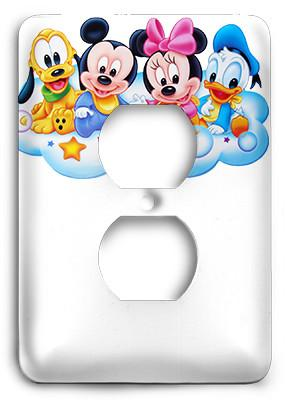 Disney Babies - Mickey Mouse Outlet Cover - Colorful Switches