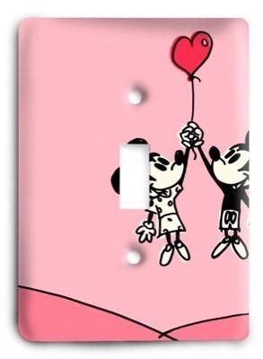 Disney Light Switch Cover - Colorful Switches