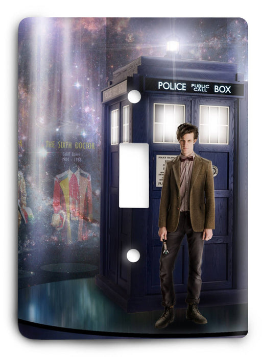 Doctor Who - Collector Series V104 Light Switch Cover - Colorful Switches