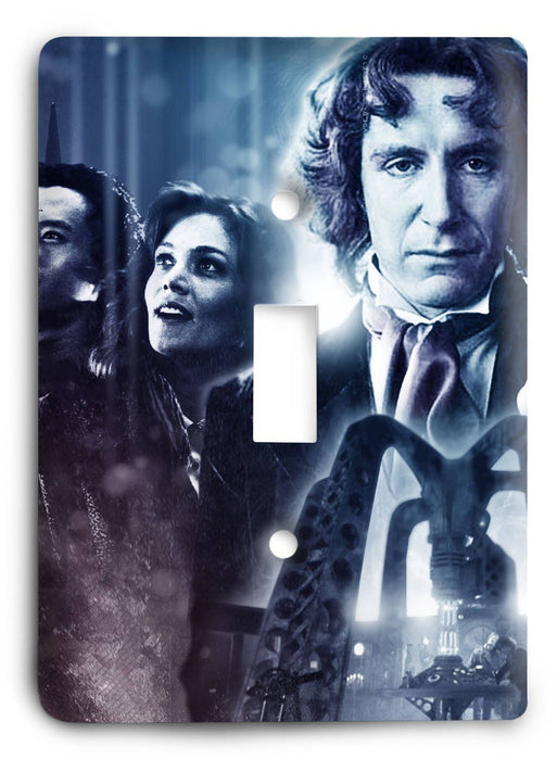 Doctor Who - Collector Series V108 Light Switch Cover - Colorful Switches