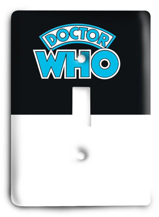 Doctor Who - Collector Series V10 Light Switch Cover - Colorful Switches