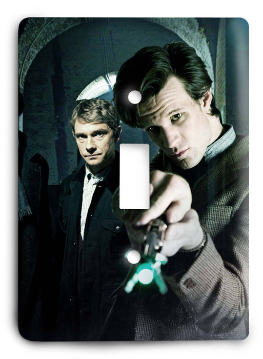 Doctor Who - Collector Series V112 Light Switch Cover - Colorful Switches