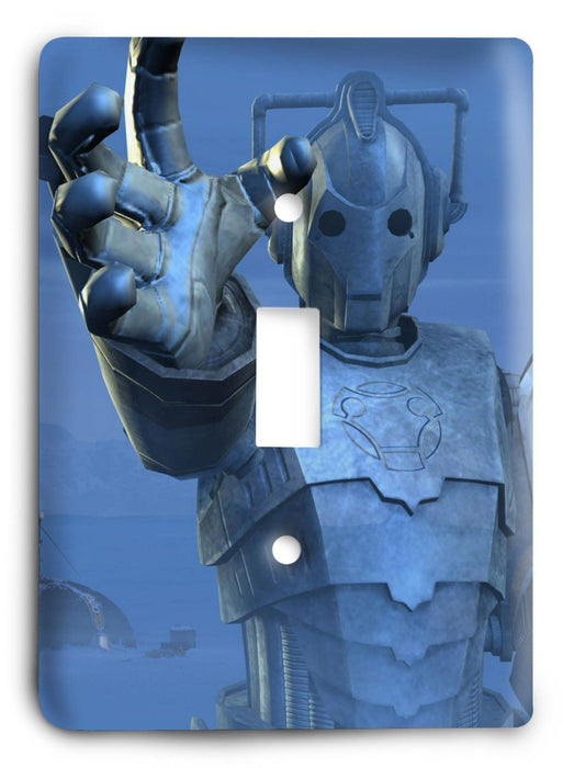 Doctor Who - Collector Series V118 Light Switch Cover - Colorful Switches