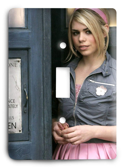 Doctor Who - Collector Series V122 Light Switch Cover - Colorful Switches