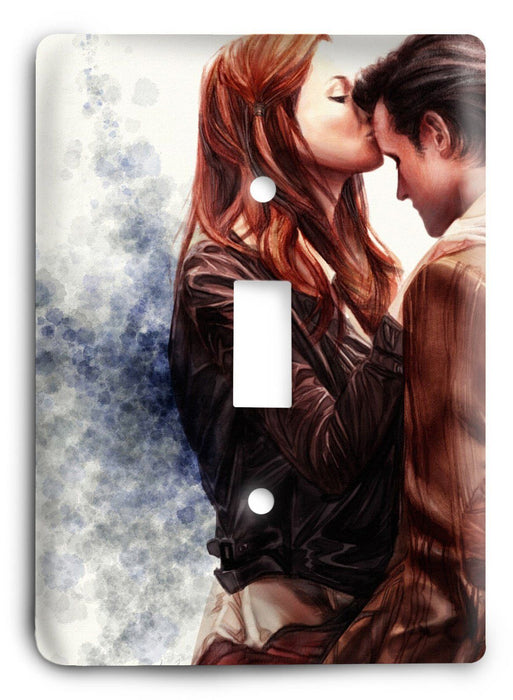 Doctor Who - Collector Series V145 Light Switch Cover - Colorful Switches