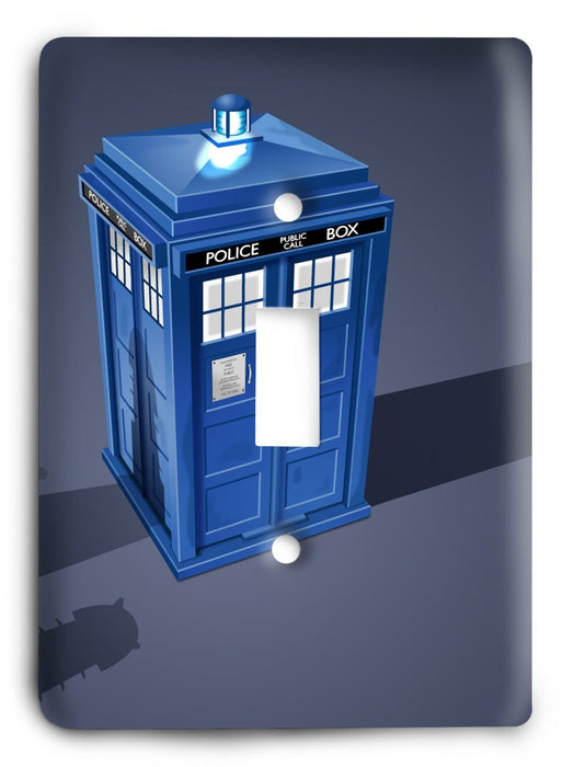 Doctor Who - Collector Series V16 Light Switch Cover - Colorful Switches