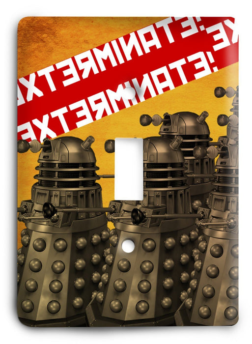 Doctor Who - Collector Series V35 Light Switch Cover - Colorful Switches