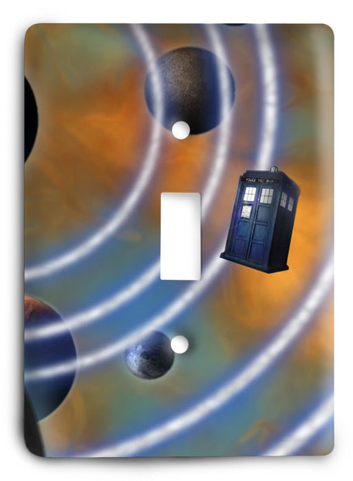 Doctor Who - Collector Series V41 Light Switch Cover - Colorful Switches
