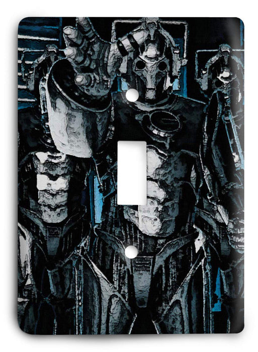 Doctor Who - Collector Series V45 Light Switch Cover - Colorful Switches